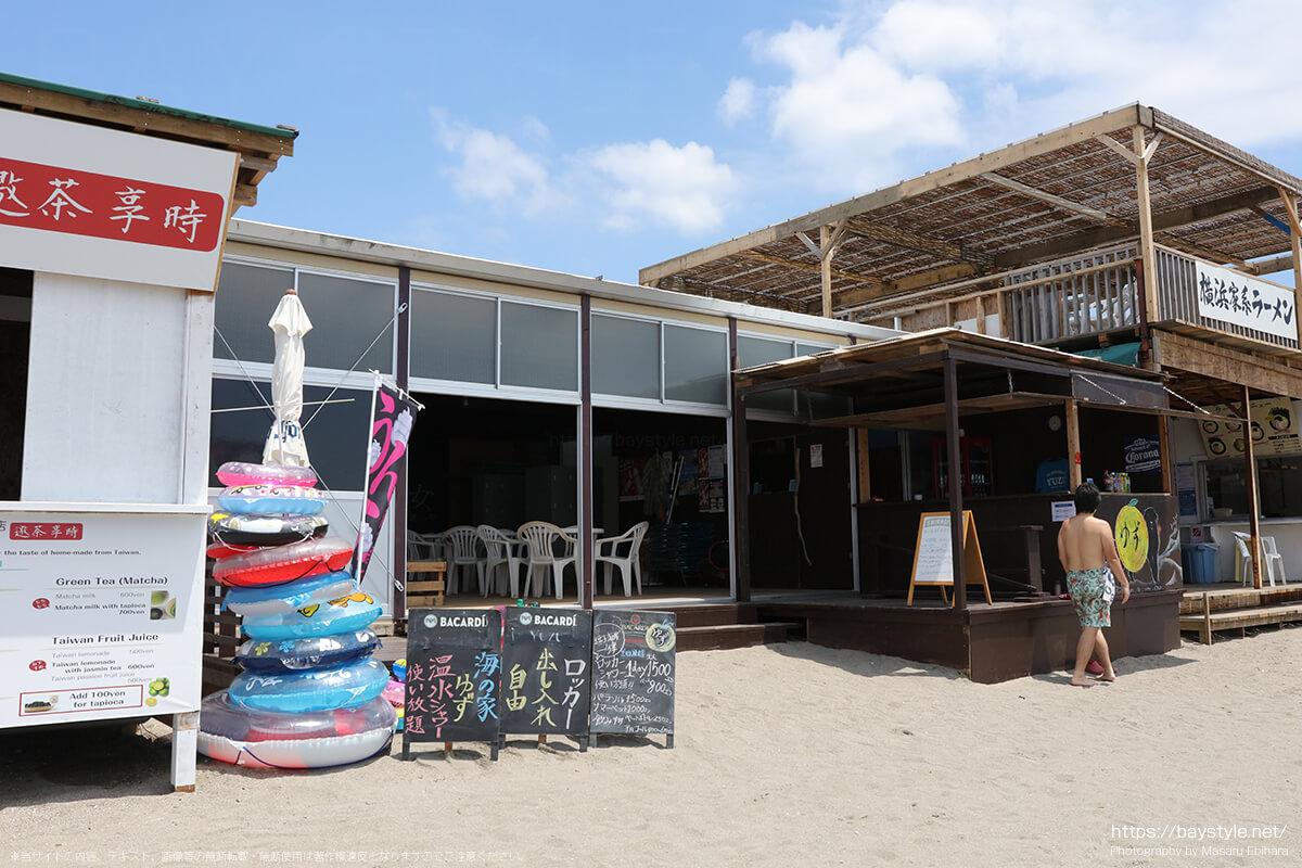 YUZU(ゆず)、逗子海水浴場の海の家