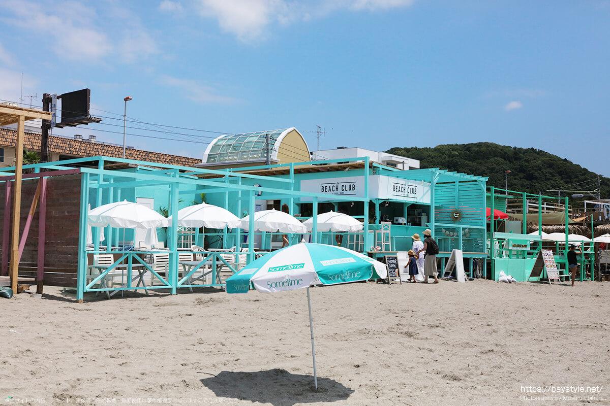 BEACH CLUB(ビーチクラブ)、逗子海水浴場の海の家