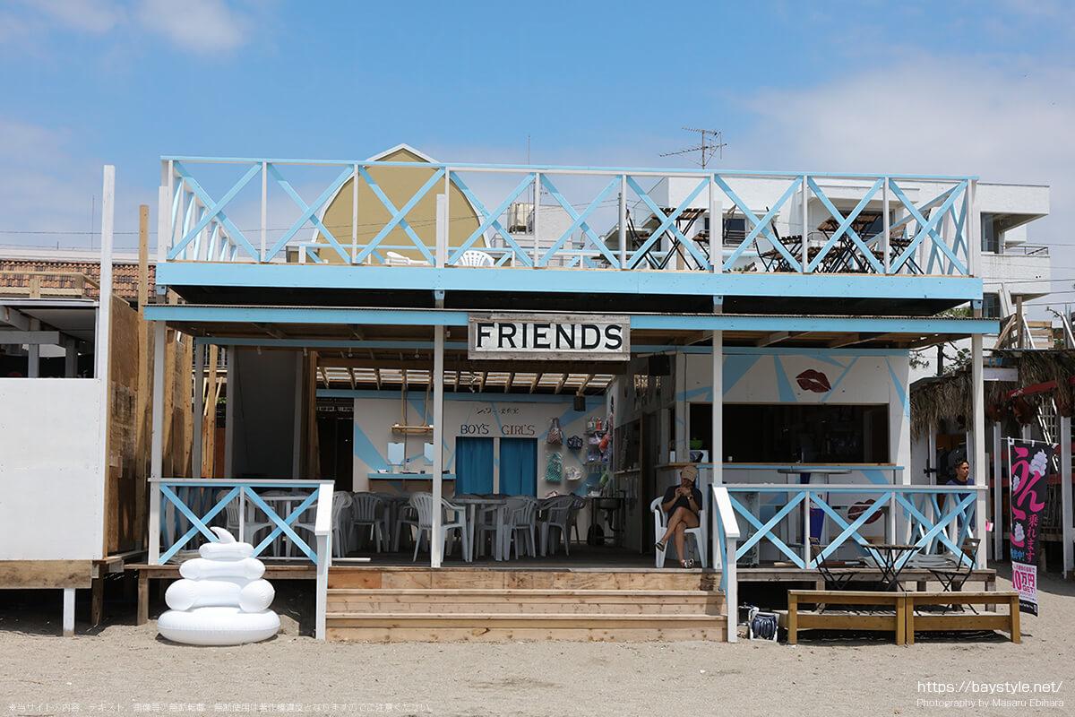 FRIENDS(フレンズ)、逗子海水浴場の海の家
