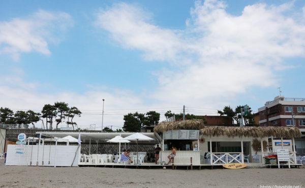 Wild Boar(ワイルドボア)、逗子海水浴場の海の家