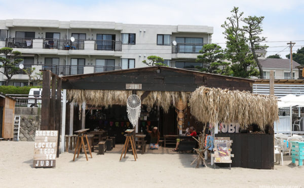 JUBI(ジュビ)、逗子海水浴場の海の家