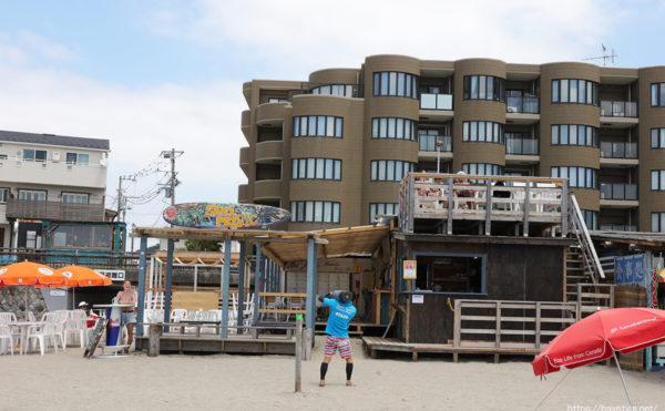 Sea Magic(シーマジック)、逗子海水浴場の海の家