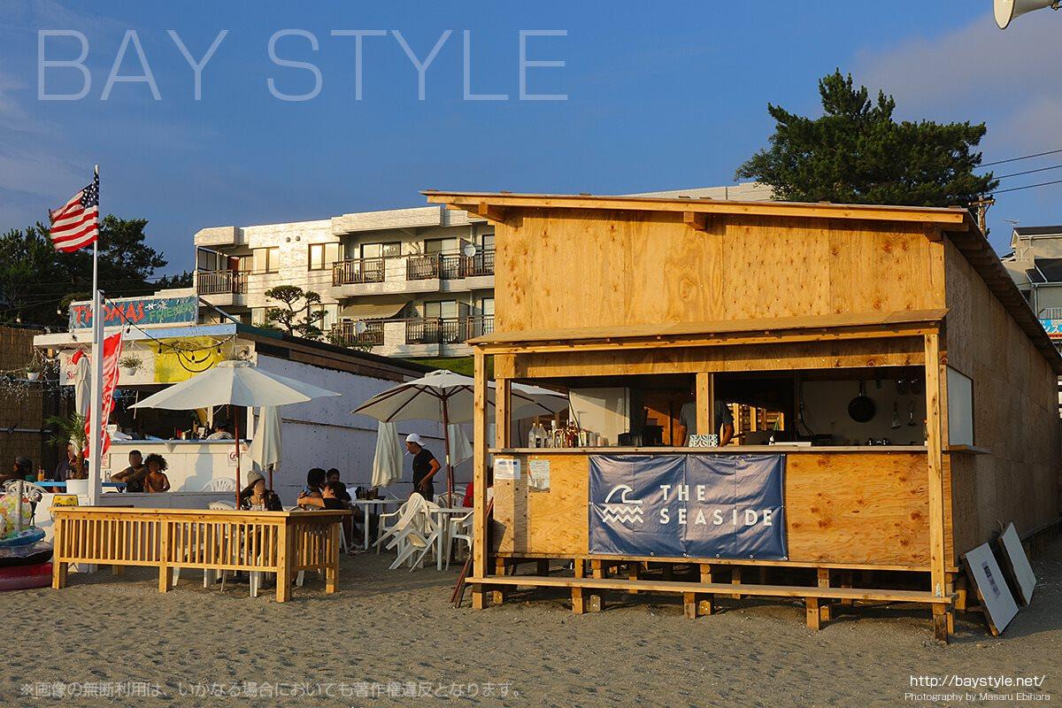 THE SEASIDE(ザシーサイド)、逗子海水浴場の海の家