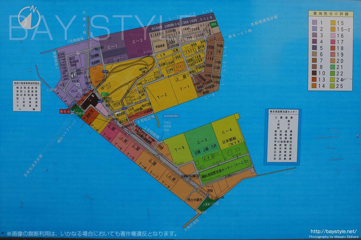 スカイウォーク跡地周辺の地図