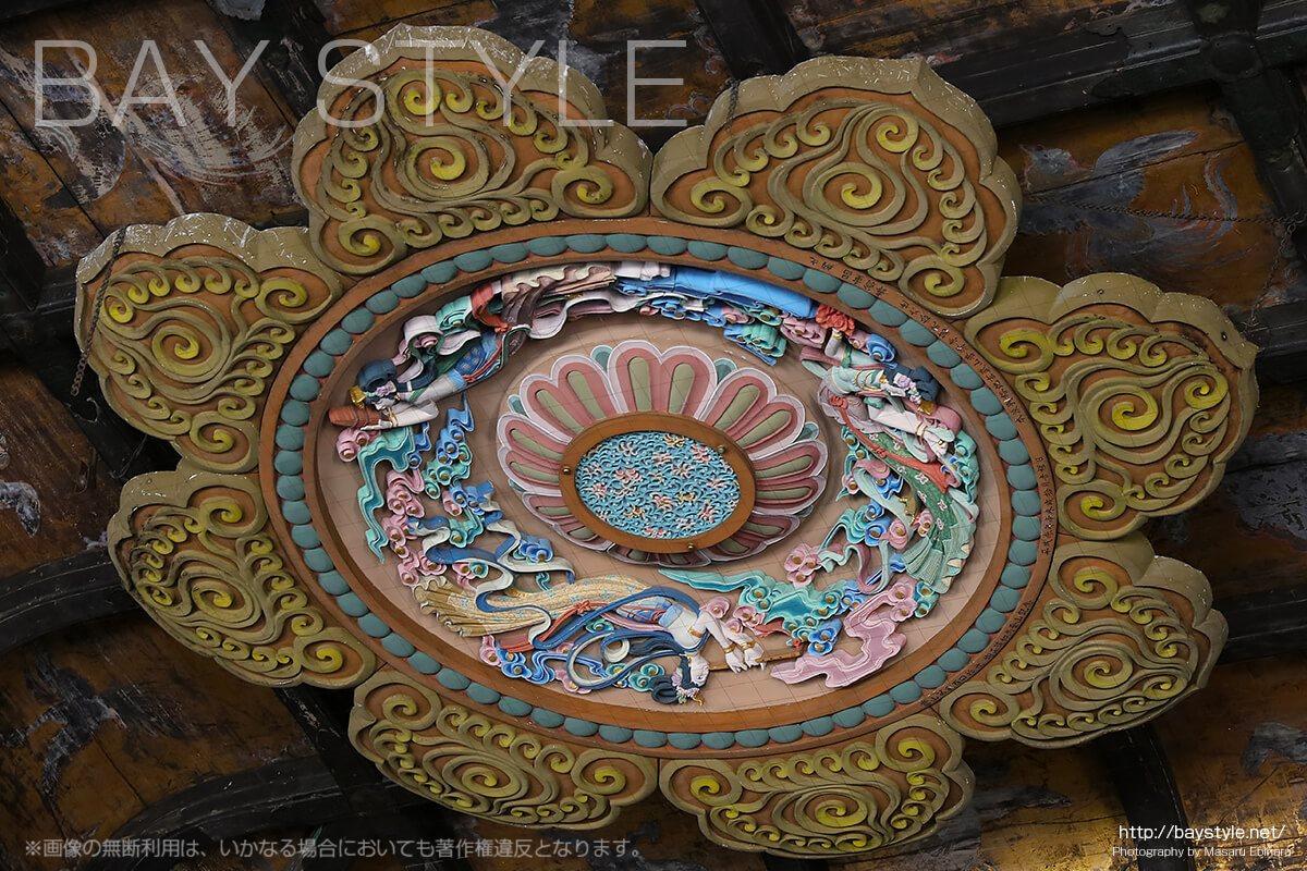 建長寺仏殿の天井(重要文化財)