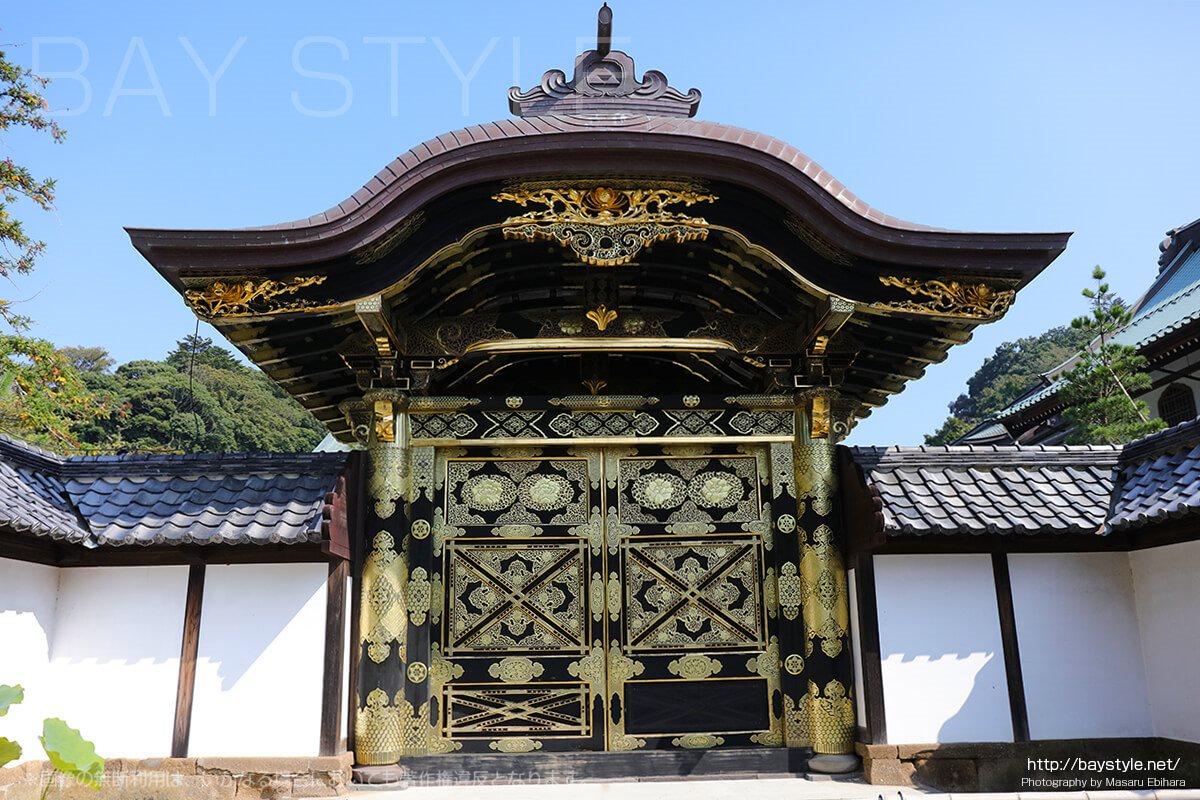 建長寺唐門(重要文化財)