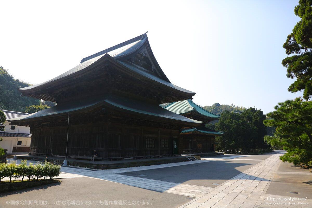 建長寺の仏殿(重要文化財)
