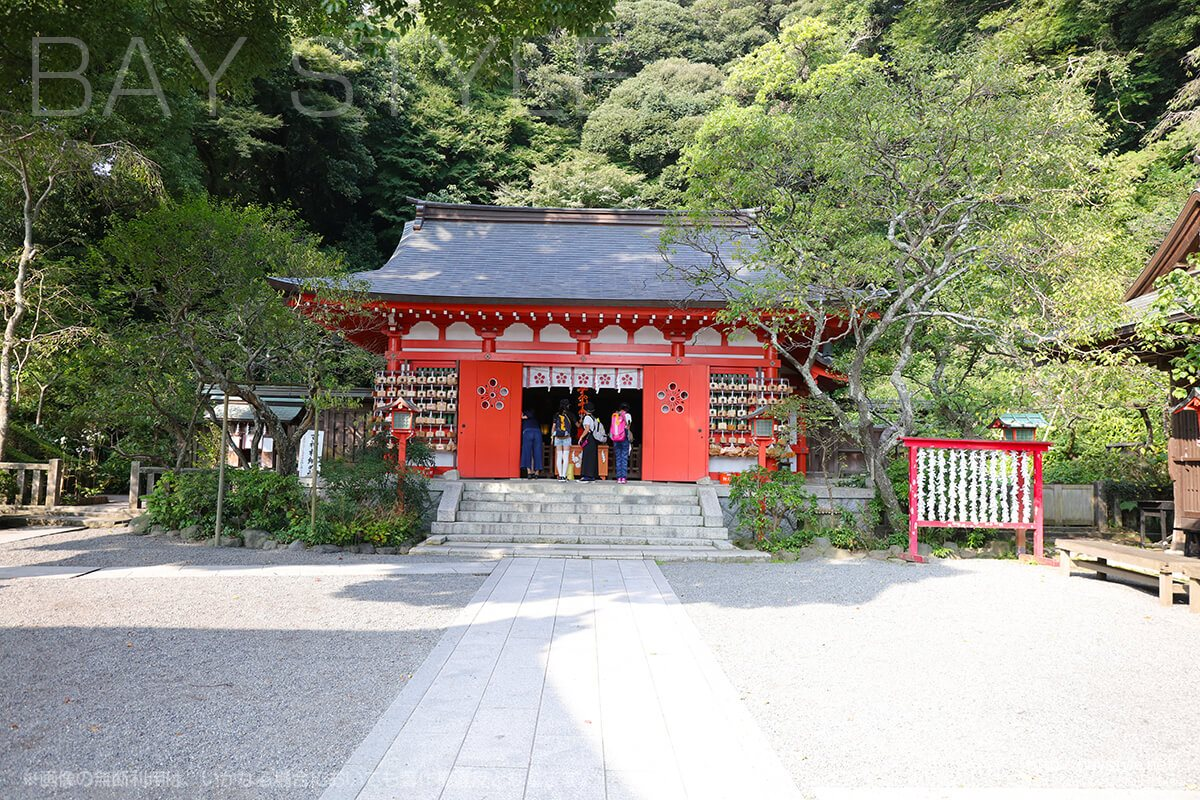 荏柄天神社の本殿