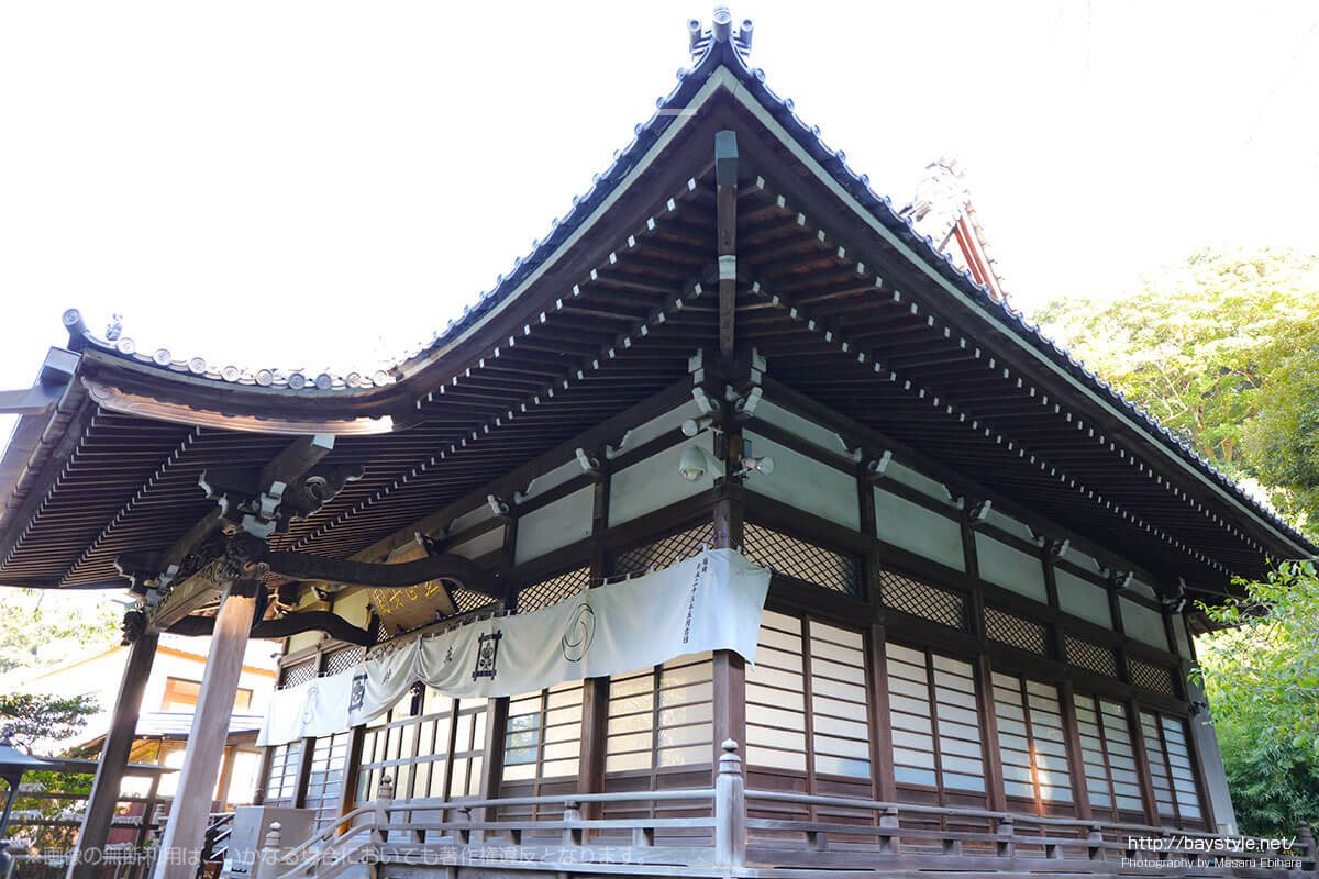 安国論寺の本堂