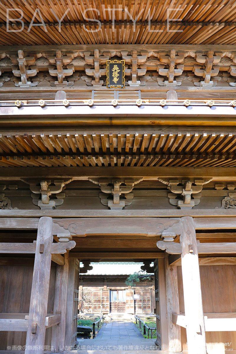 英勝寺の総門