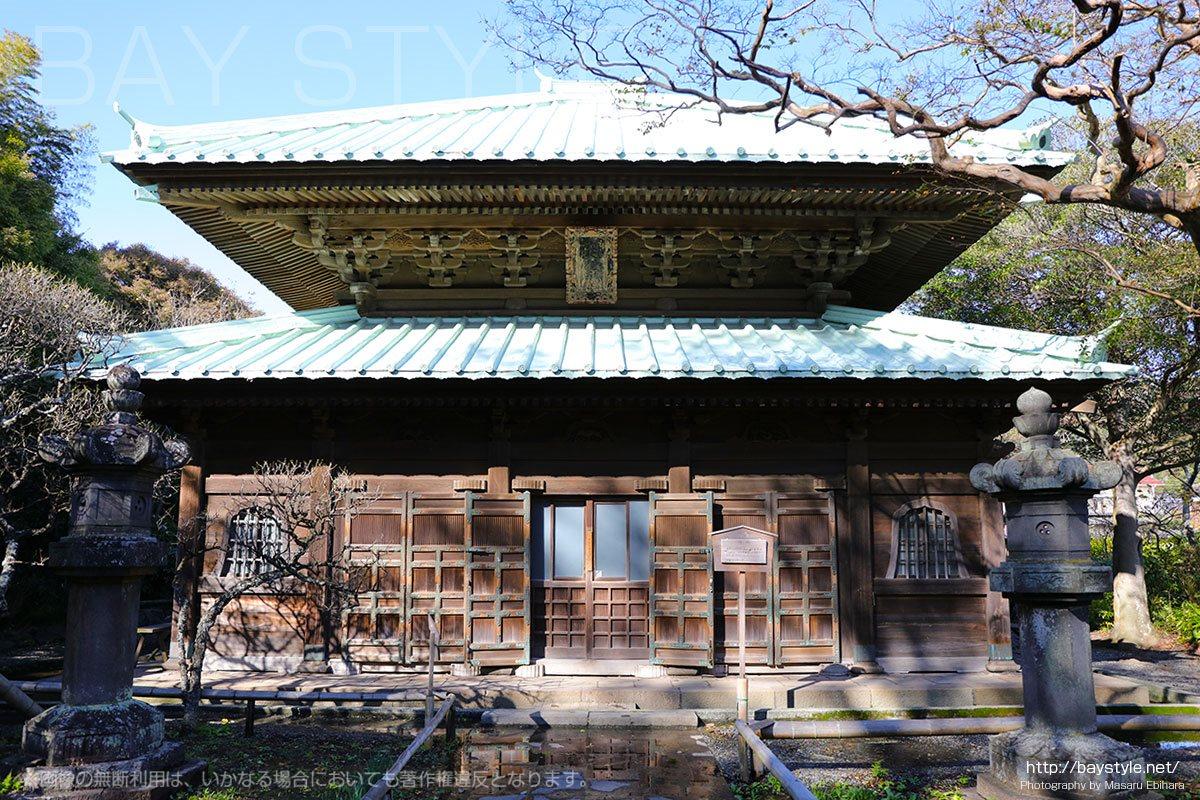 英勝寺の仏殿