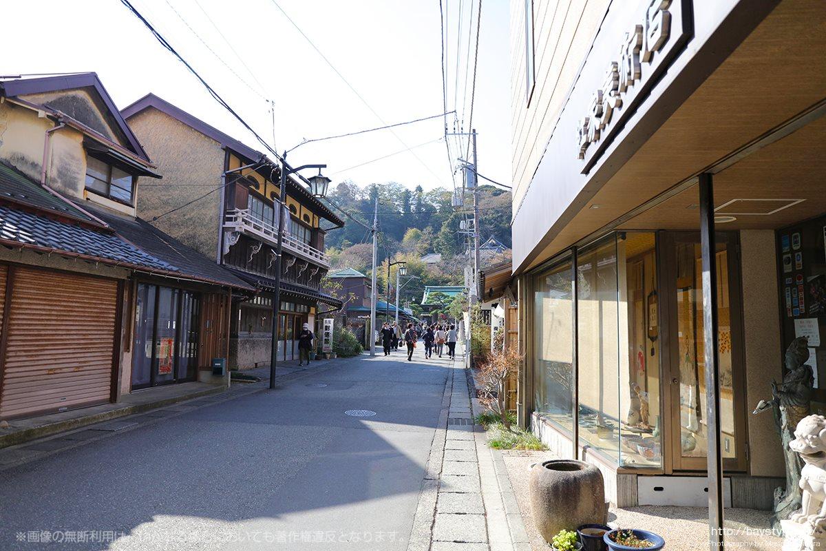 長谷寺へと続く道