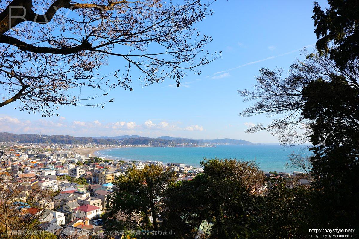 長谷寺の眺望散策路からの眺め