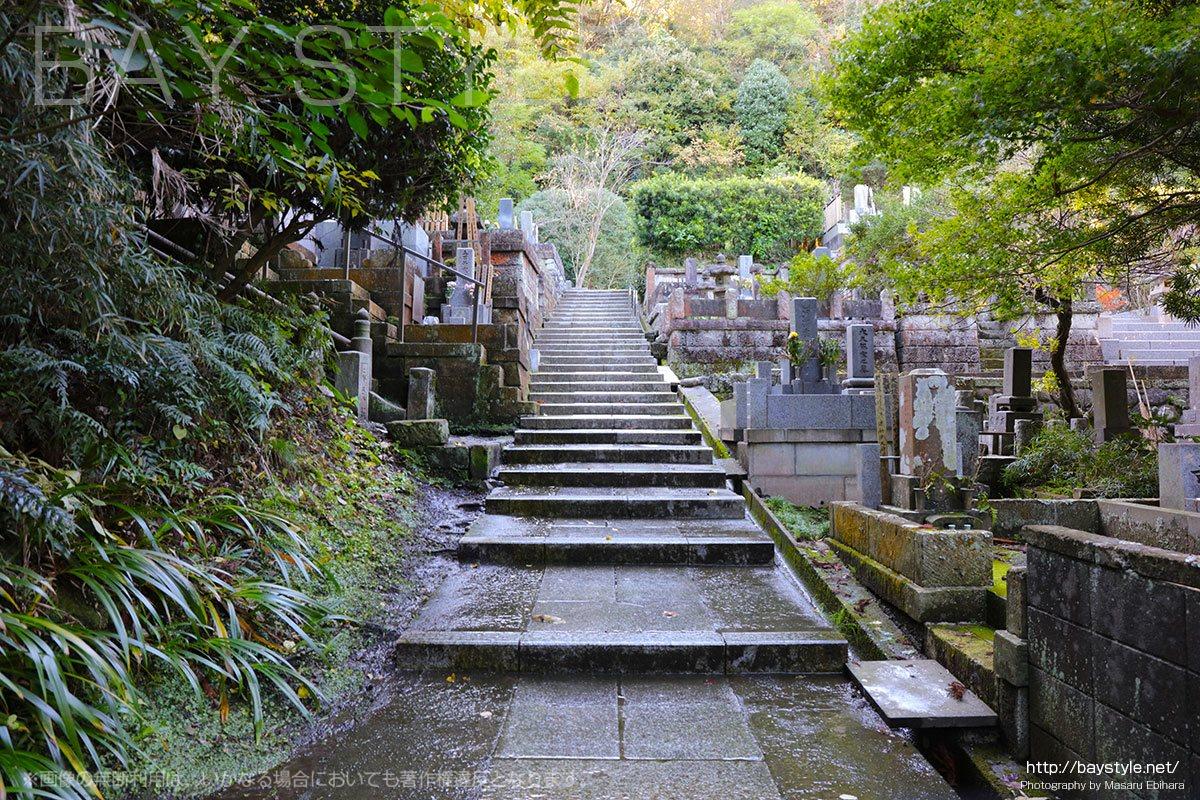 寿福寺の墓苑