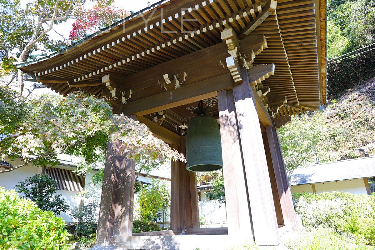 海蔵寺の鐘楼