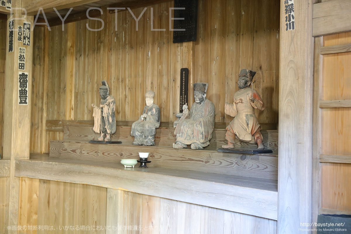 海蔵寺の伽藍神像