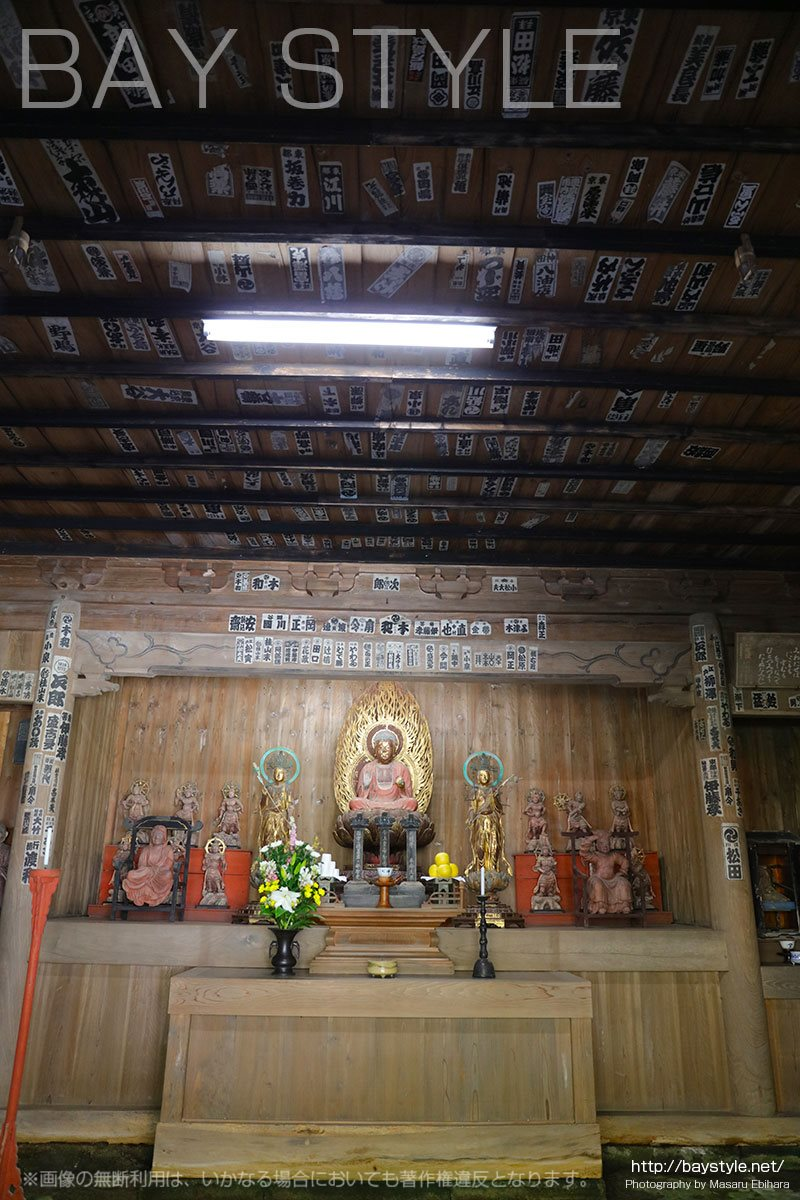 薬師堂の天井