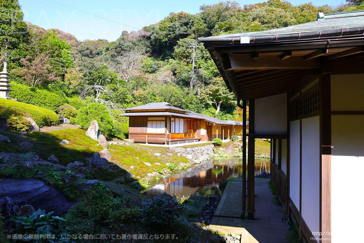 海蔵寺の庭園