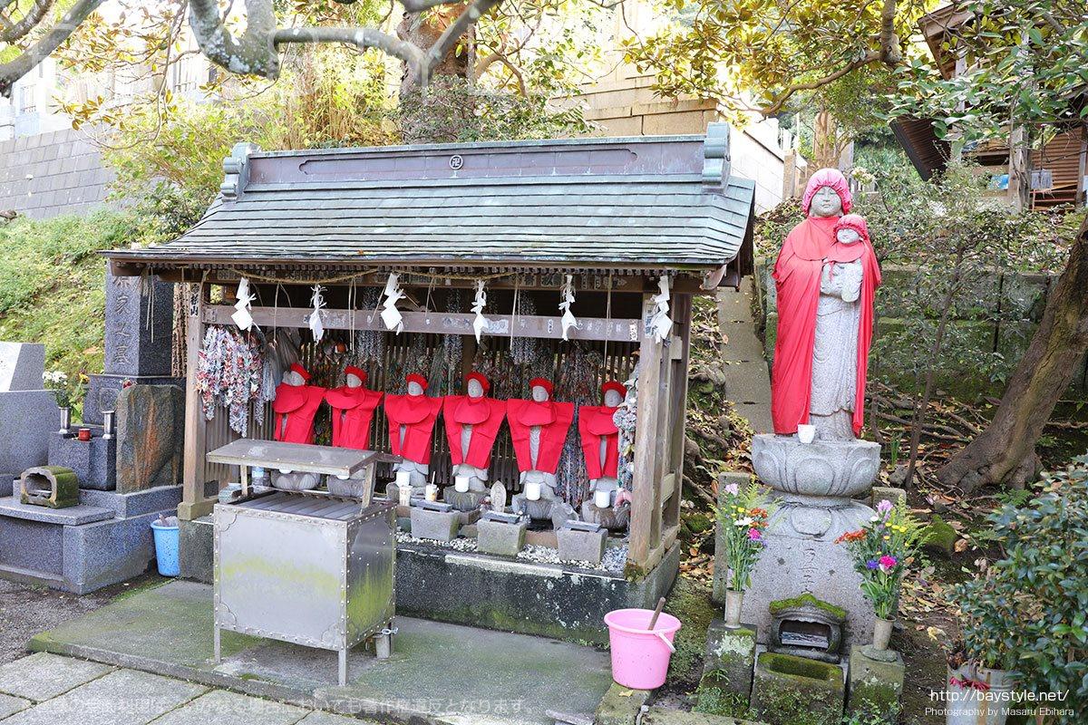 長勝寺の六地蔵