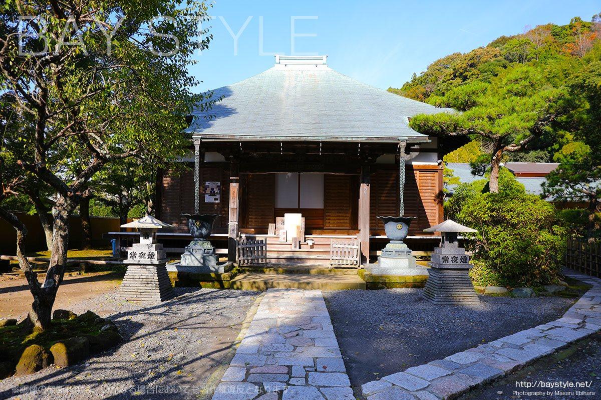光触寺は鎌倉の東側奥地にある静かなお寺