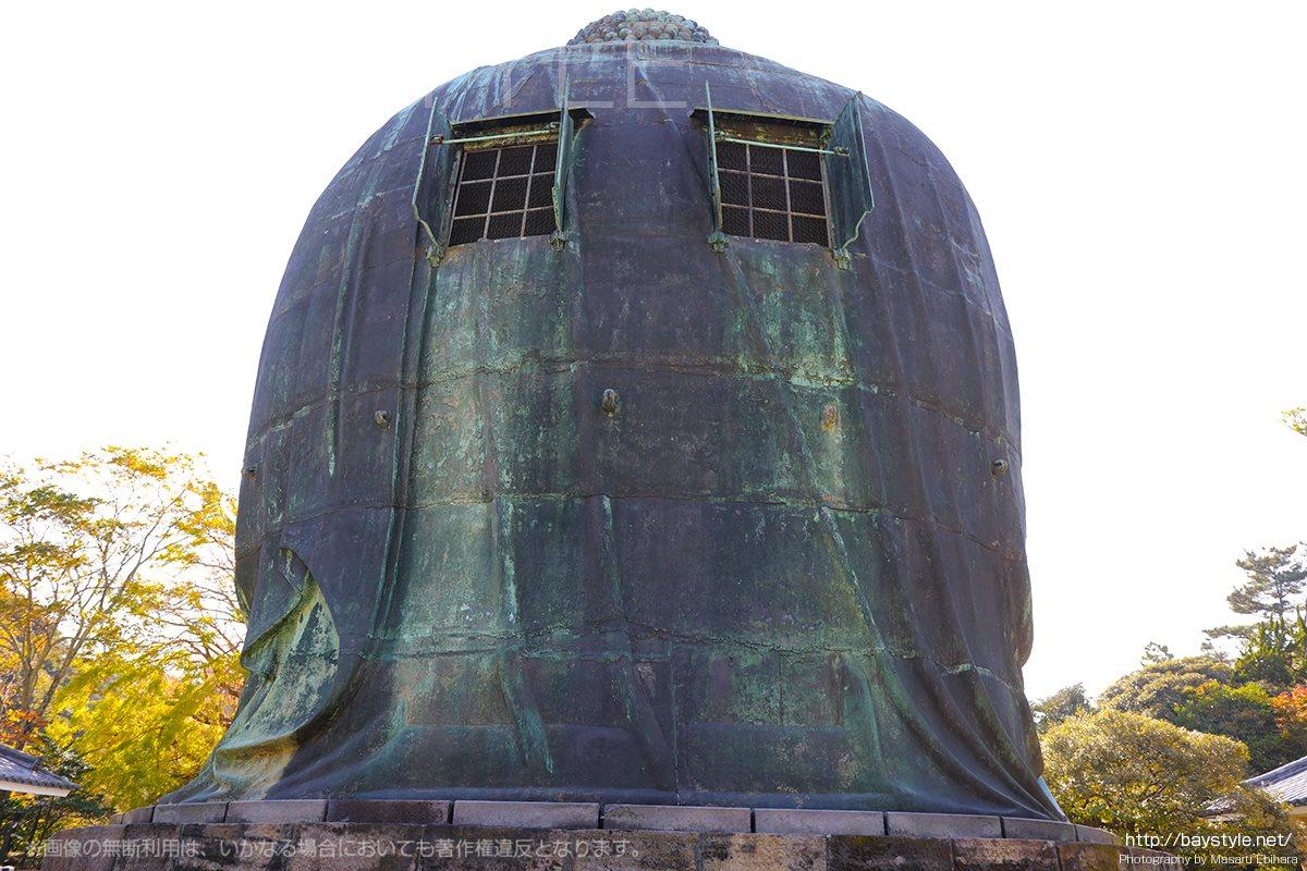 鎌倉の大仏の背中
