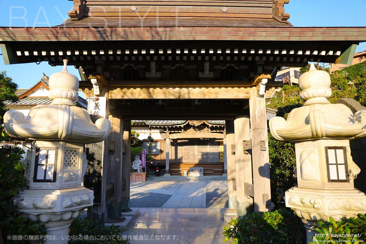 満福寺の山門