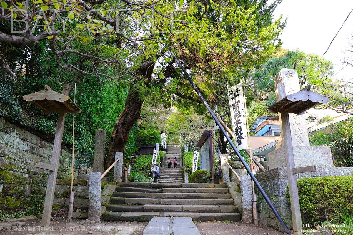 杉本寺の入口
