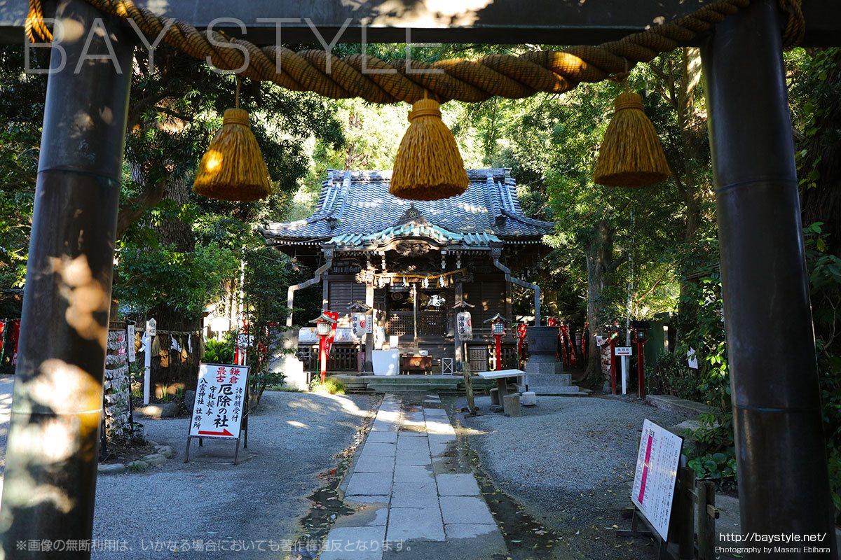 八雲神社は富士山と鎌倉の海が一望できる絶景スポット