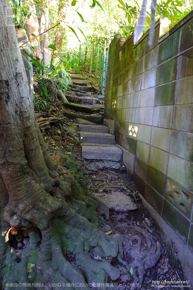 祇園山ハイキングコースの入口