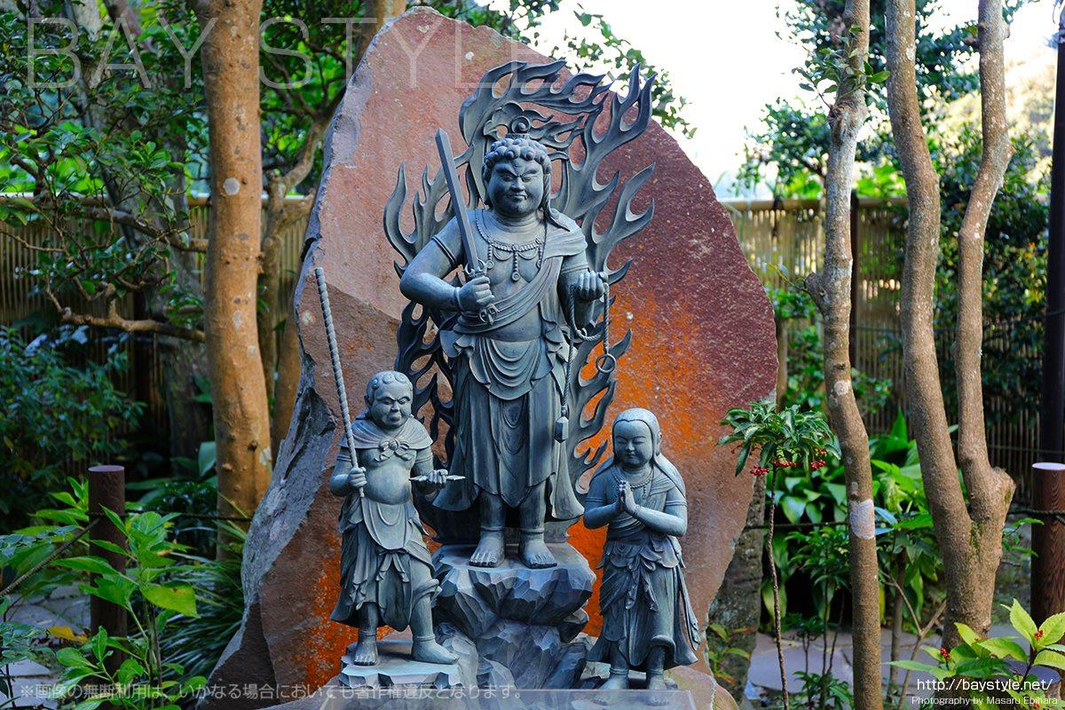 不動明王の仏像
