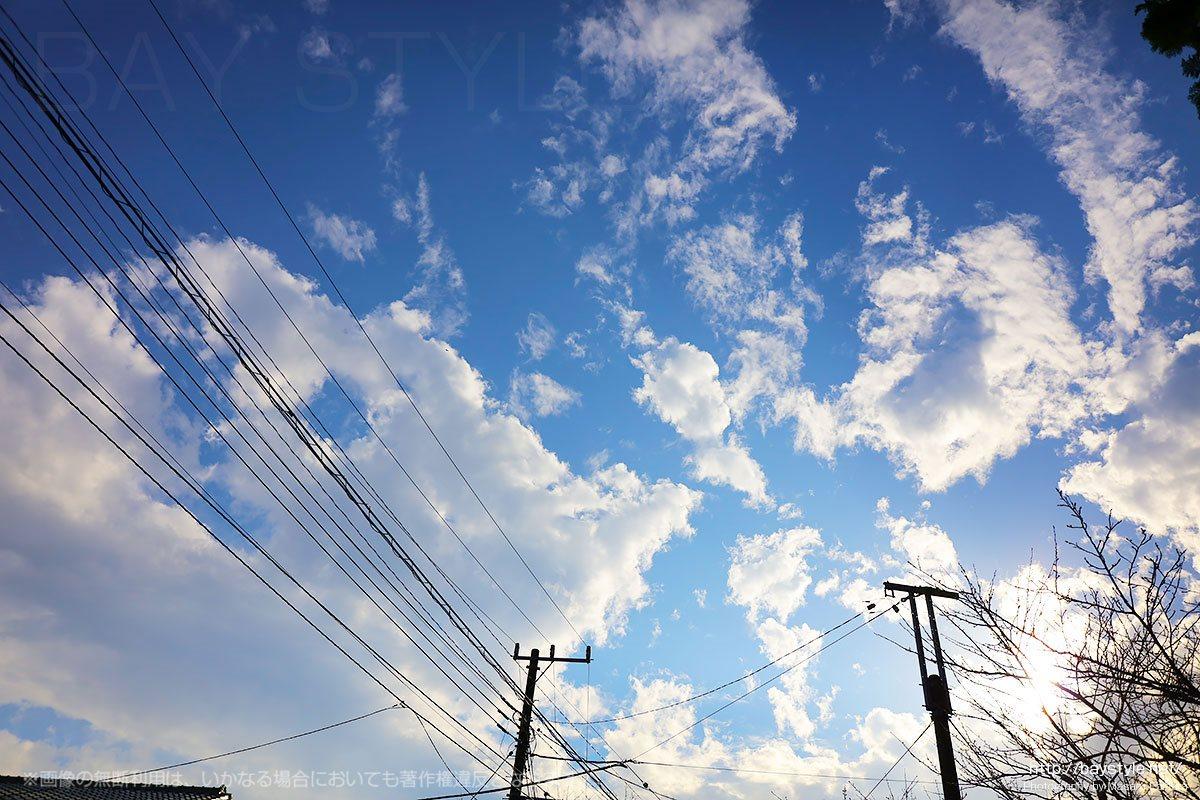 浄妙寺から見た秋空