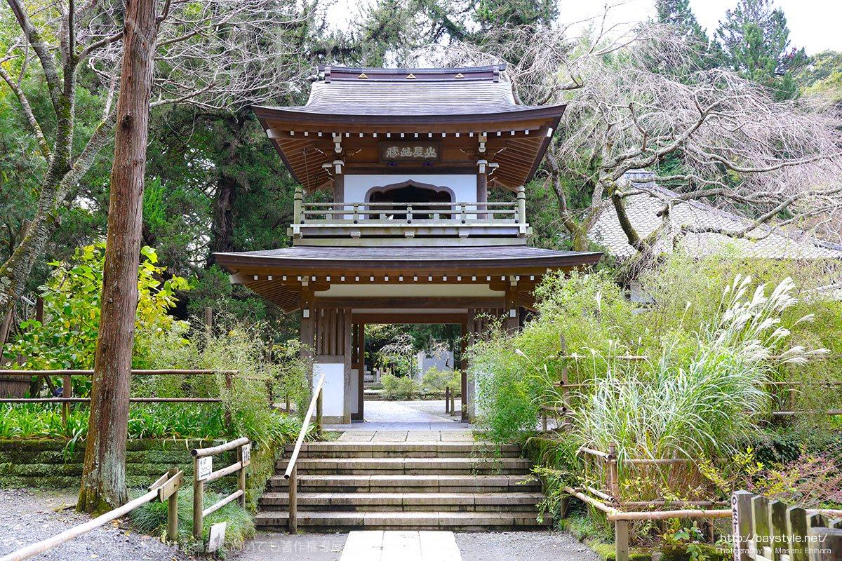 浄智寺の山門