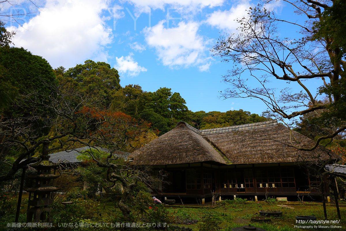 浄智寺の書院