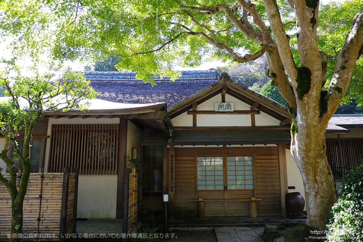 浄智寺境内の風情溢れる建物