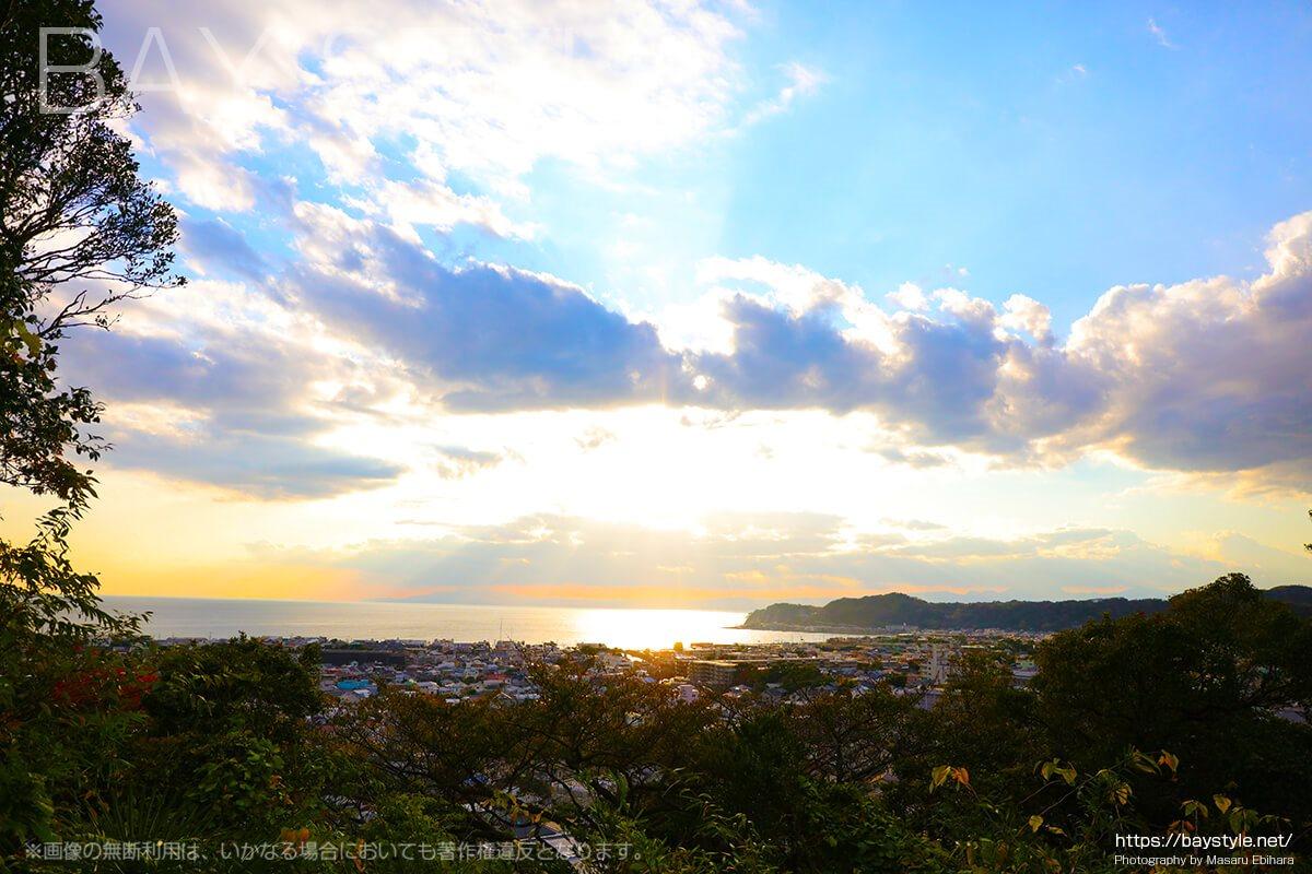 見晴台からの美しい眺め