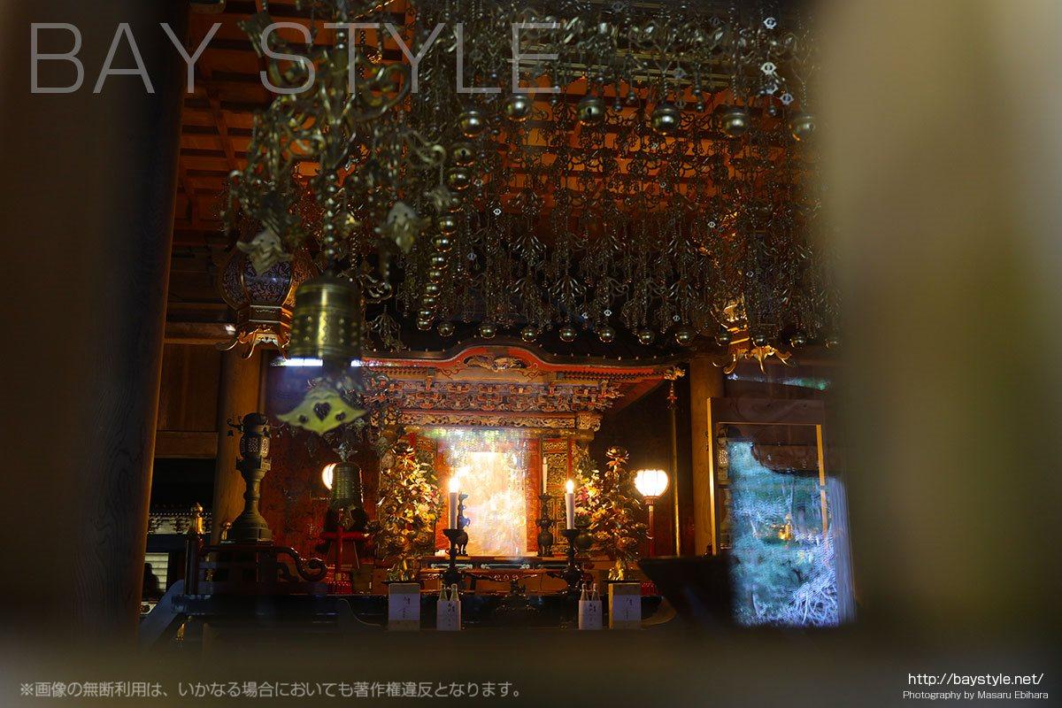 祖師堂の内部