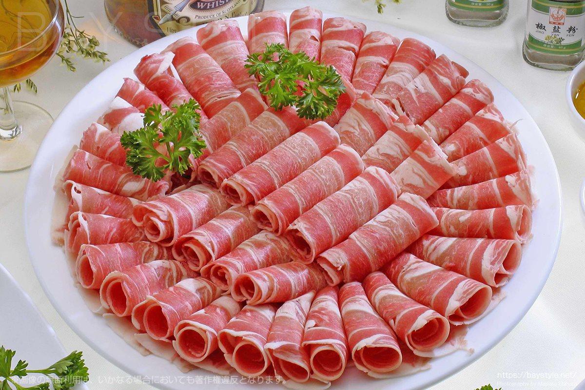火鍋用の肉