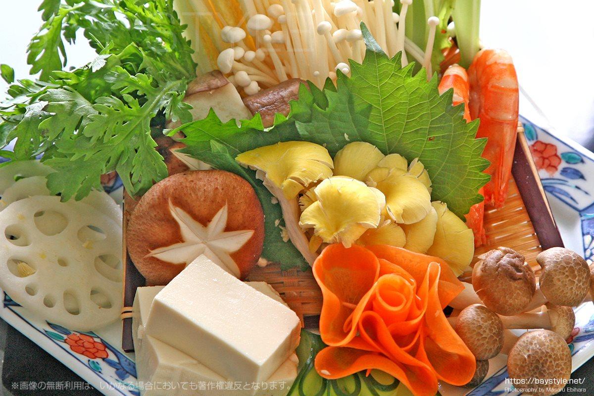 火鍋用の野菜