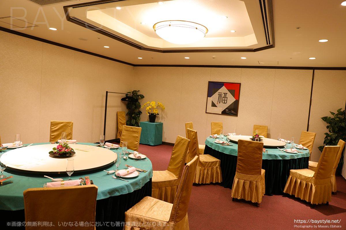 盤古殿新横浜プリンスホテル店の宴会個室