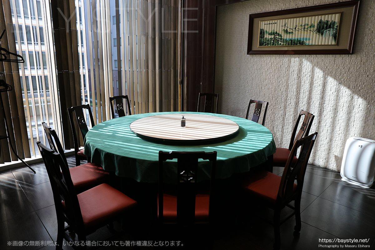 盤古殿秋葉原UDX店の大きな一つの宴会個室