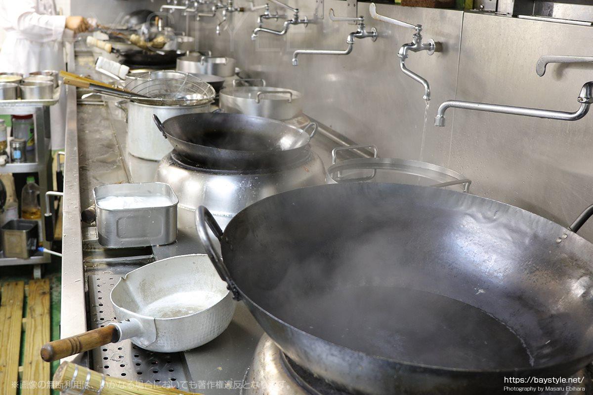 盤古殿新横浜プリンスホテル店の厨房