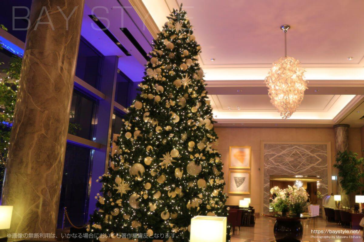 横浜ロイヤルパークホテルのクリスマスツリー