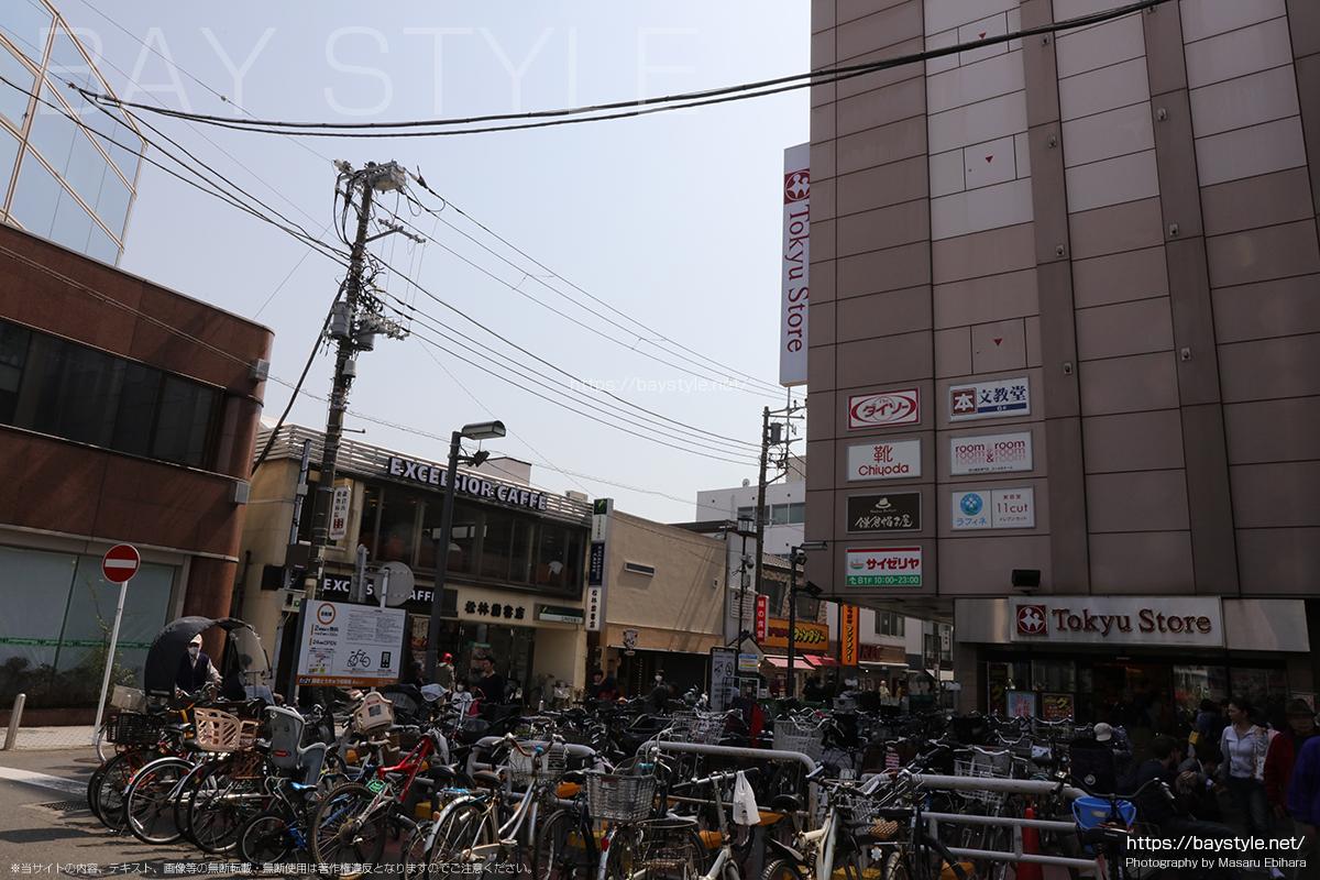 JR鎌倉駅東口前の東急ストア