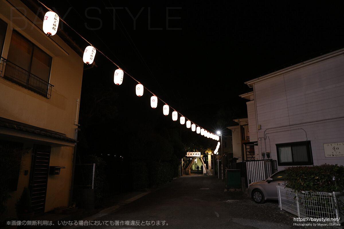 荏柄天神社の初詣