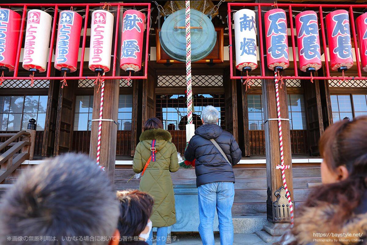 鎌倉えびす、本えびす開催期間中の本堂