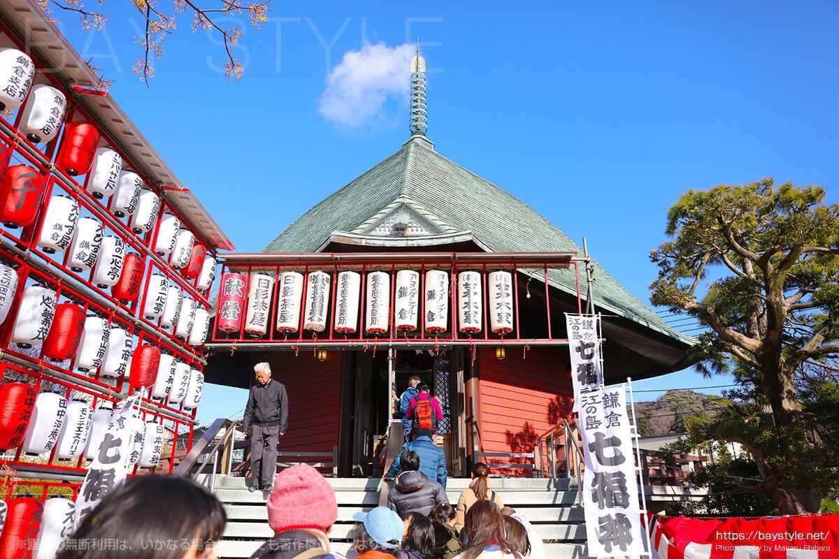 鎌倉えびす、本えびす開催期間中の夷堂