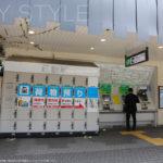 鎌倉駅西口改札を出て左側にあるコインロッカー