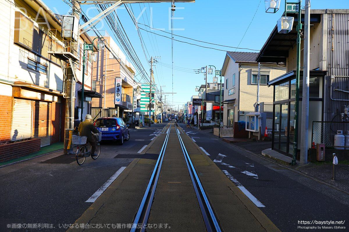 江ノ島東海岸側の街の雰囲気