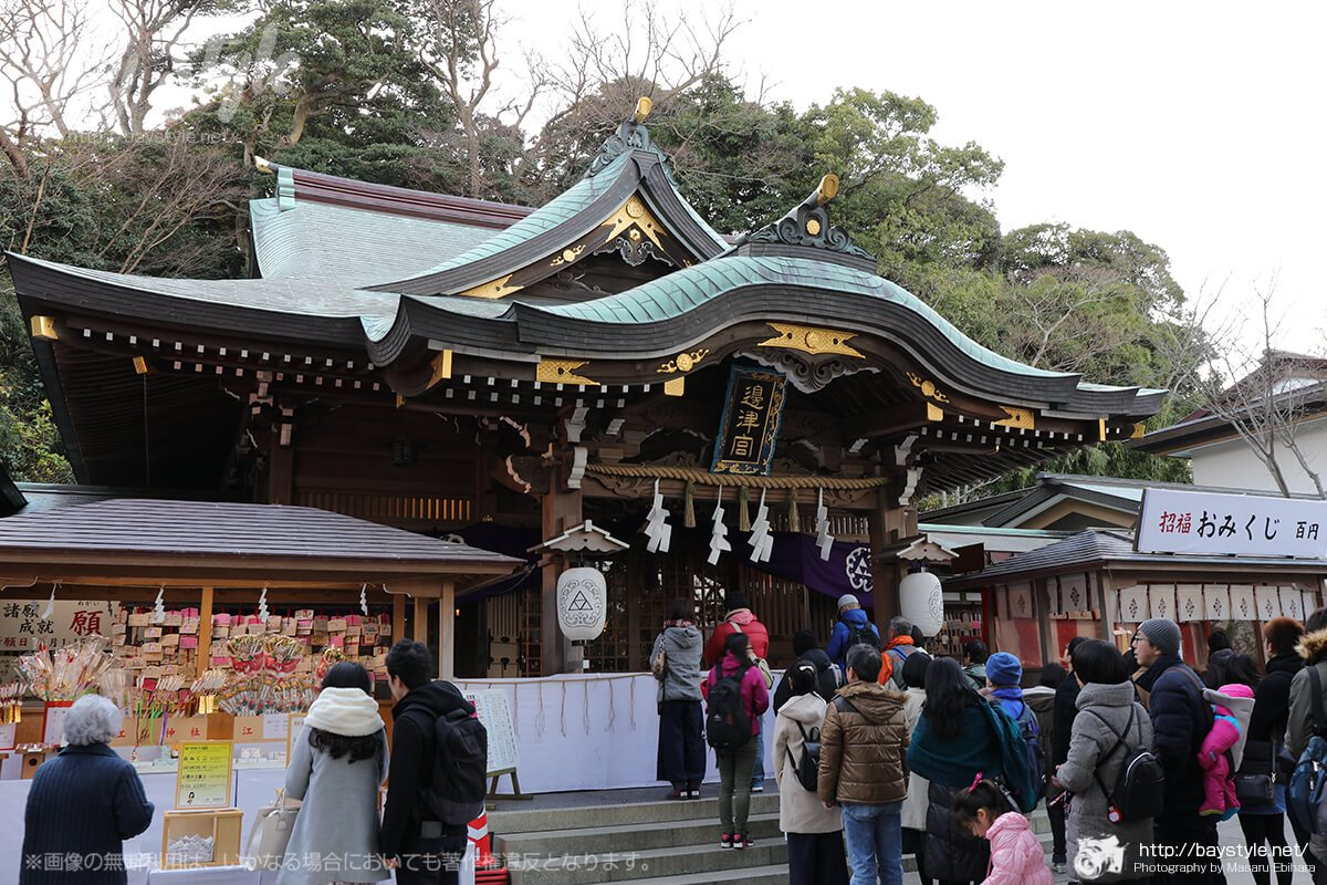 江ノ島神社の拝観料、拝観時間、ご利益、見所について