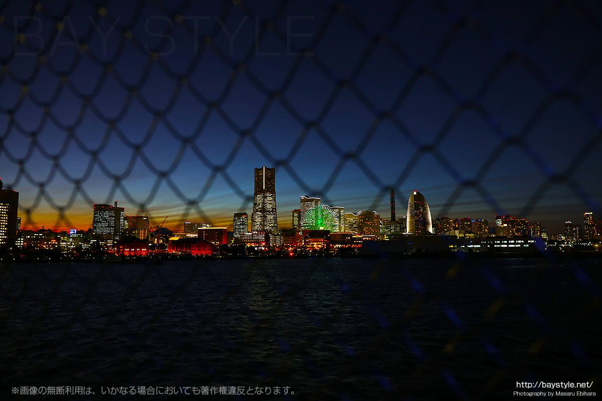 大さん橋の夜景